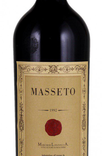 Ornellaia Masseto 1992 года