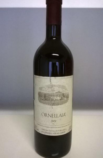 Ornellaia Bolgheri Superiore 1989 года