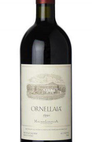 Ornellaia Bolgheri Superiore 1990 года