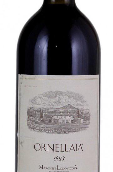 Ornellaia Bolgheri Superiore 1993 года