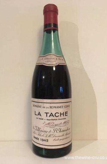 Domaine de la Romanee-Conti La Tache 1942 года