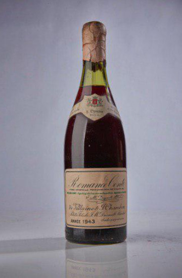 Domaine de la Romanee-Conti 1943 года