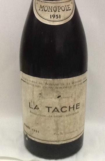 Domaine de la Romanee-Conti La Tache 1951 года