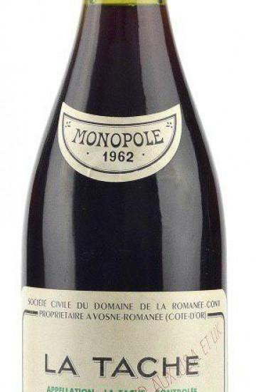 Domaine de la Romanee-Conti La Tache 1962 года