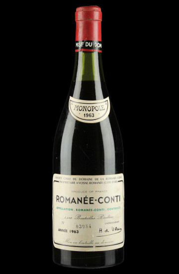 Domaine de la Romanee-Conti 1963 года