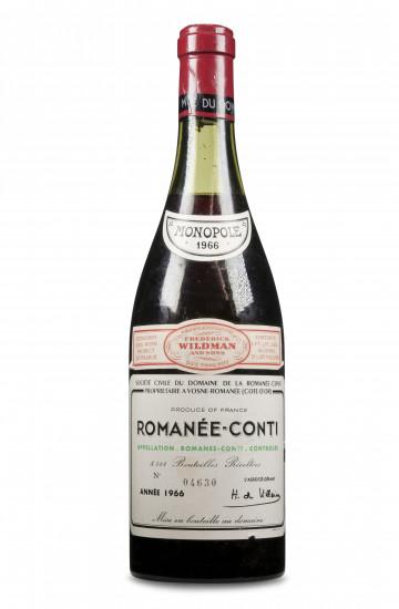 Domaine de la Romanee-Conti 1966 года