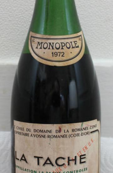 Domaine de la Romanee-Conti La Tache 1972 года