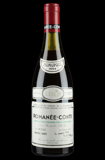 Domaine de la Romanee-Conti 1984 года