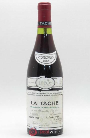 Domaine de la Romanee-Conti La Tache 1986 года