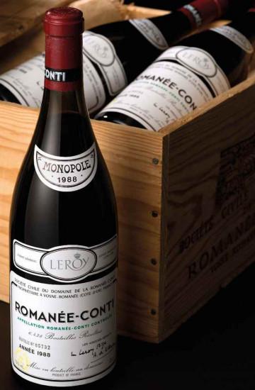 Domaine de la Romanee-Conti 1988 года