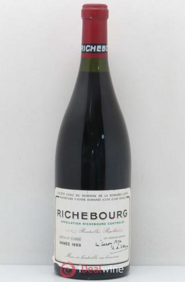 Domaine de la Romanee-Conti Richebourg 1989 года