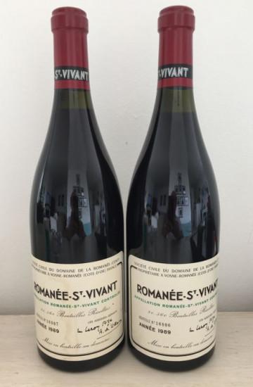 Domaine de la Romanee-Conti Saint-Vivant 1989 года
