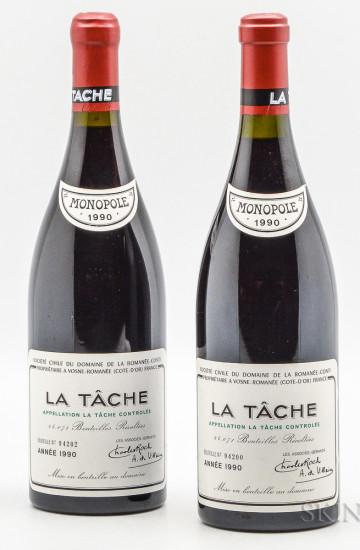 Domaine de la Romanee-Conti La Tache 1990 года
