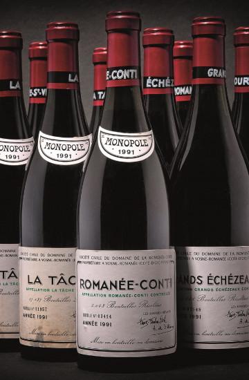 Domaine de la Romanee-Conti 1991 года