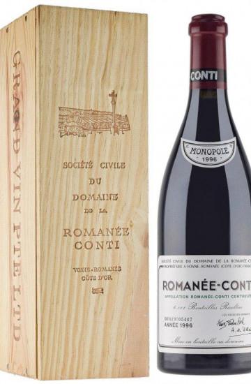Domaine de la Romanee-Conti 1996 года