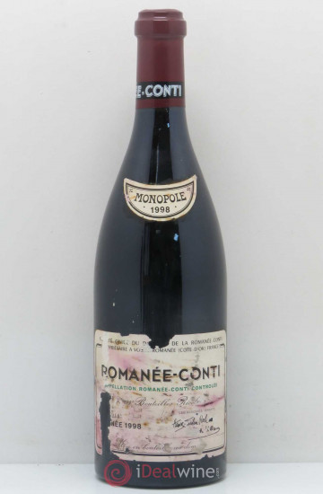 Domaine de la Romanee-Conti 1998 года