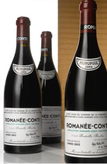 Domaine de la Romanee-Conti 2003 года