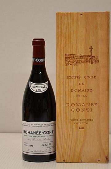Domaine de la Romanee-Conti 2012 года