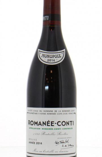 Domaine de la Romanee-Conti 2014 года
