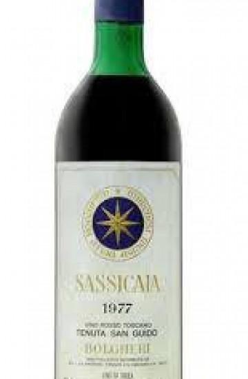 Bolgheri Sassicaia 1977 года