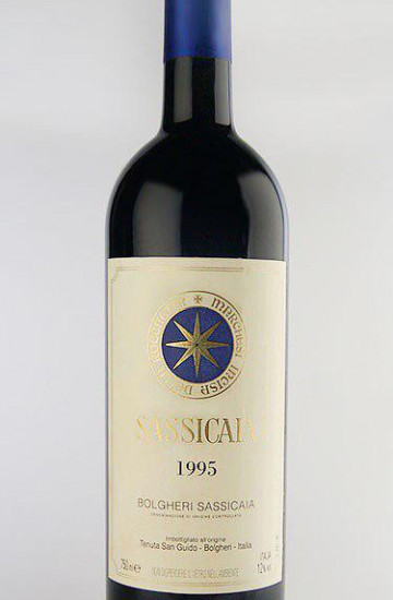 Bolgheri Sassicaia 1995 года