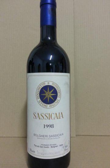 Bolgheri Sassicaia 1998 года