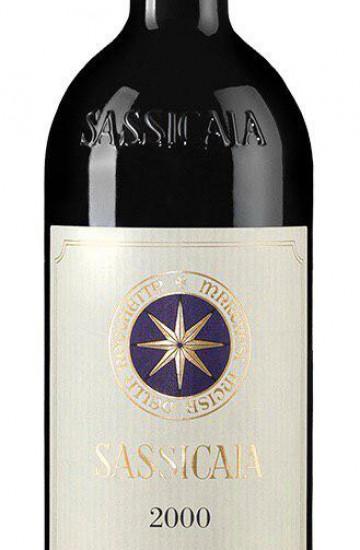 Bolgheri Sassicaia 2000 года