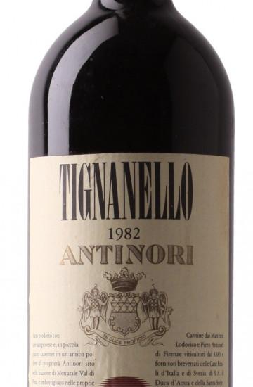 Tignanello 1982 года