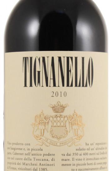 Tignanello 2010 года