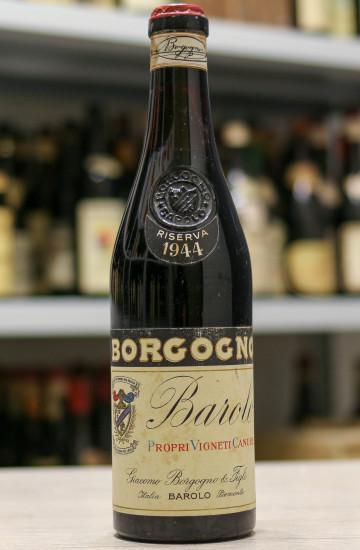 Вино Barolo Riserva Giacomo Borgogno & Figli 1944 года