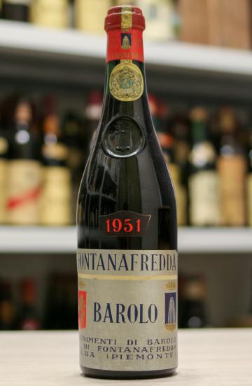 Вино Barolo Fontanafredda 1951 года