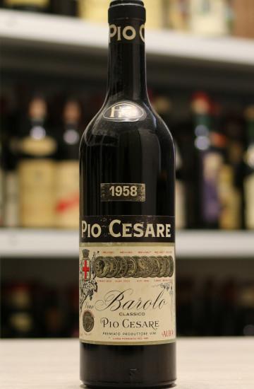Barolo Pio Cesare 1958