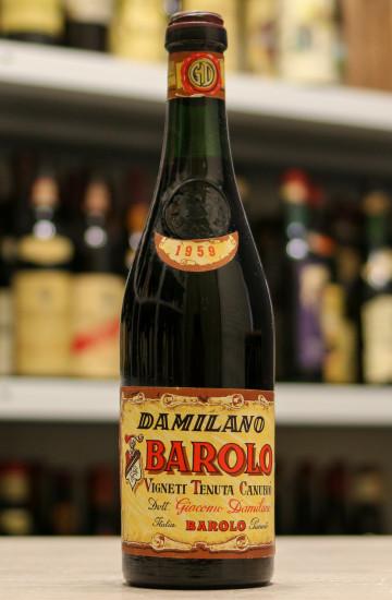 Barolo Giacomo Damilano 1959