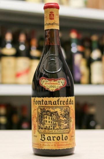 Вино Barolo Fontanafredda 1961 года