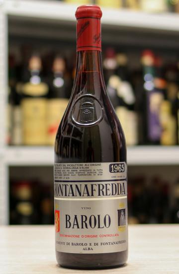 Barolo Fontanafredda 1965