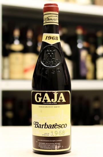 Вино Barbaresco Gaja 1968 года