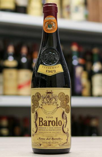 Вино Barolo Terre del Barolo 1969 года