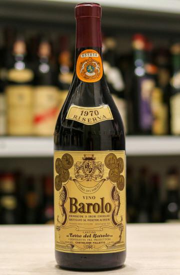 Вино Barolo Riserva Terre del Barolo 1970 года