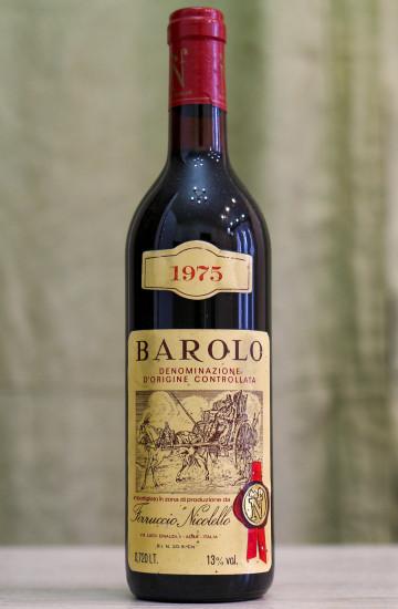 Вино Barolo Feruccio Nicolello 1975 года