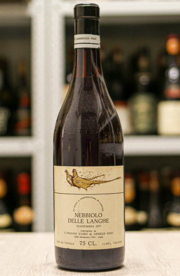 Вино Gaja Nebbiolo Langhe 1977
