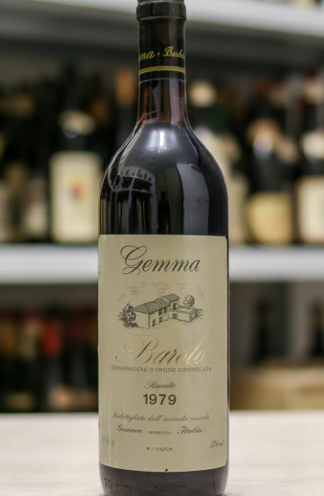 Barolo Gemma 1979